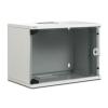 Digitus ® SoHo fali szekrény 9U Cabinet 9U Compact sorozat - 520 x 400 mm