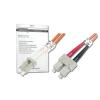 Digitus üvegszálas optikai patch kábel   LC / SC 1m