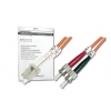 Digitus üvegszálas optikai patch kábel   LC / ST 2m