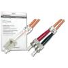 Digitus üvegszálas optikai patch kábel , LC / ST 2m