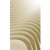 Dimex BEIGE RIPPLE fotótapéta, poszter, vlies alapanyag, 150x250 cm