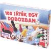 Dino 100 játék egy dobozban társasjáték gyűjtemény