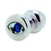 Diogol Diogol Anni Eye - kék köves análkúp - ezüst (2,5cm)
