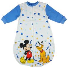 Disney Mickey és Plútó, hosszú ujjú vékony pamut hálózsák 1,5 TOG