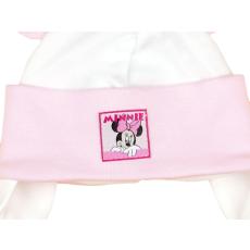 Disney Minnie fülvédős, megkötős baba sapka