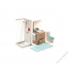 DJECO Fürdőszoba - babaház kiegészítő