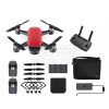 DJI Spark - Lava Red - Fly More Combo - drón