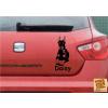 Doberman 1 Autós matrica