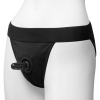 Doc Johnson Vac-U-Lock - Panty Harness with Plug - Full Back - L/XL