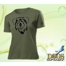 Dogs & Sport Ausztrál juhász női póló (Női rövid ujjú póló )