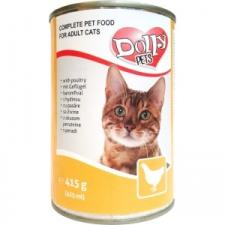 Dolly Cat Konzerv Baromfi 415g macskaeledel