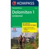 Dolomiten - Gröden - Kompass WF 5726