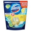 """DOMESTOS WC fertőtlenítő, 5x55 g, DOMESTOS """"Power 5"""", lime"""