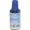 DONAU Bélyegzőfesték, 30 ml, DONAU, kék