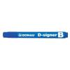"DONAU ""D-signer B"" 2-4 mm kúpos kék táblamarker"