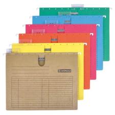 DONAU Függőmappa, gyorsfűzős, karton, A4, DONAU, sárga mappa