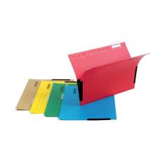 DONAU Függőmappa, oldalvédelemmel, karton, A4, DONAU, barna mappa