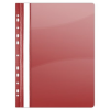 DONAU Gyorsfűző, lefűzhető, PVC, A4, DONAU, piros