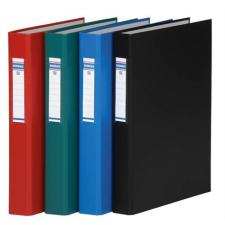 DONAU Gyűrűs könyv, 2 gyűrű, 40 mm, A4, PP/karton, , fekete gyűrűskönyv
