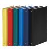 DONAU Gyűrűs könyv, 4 gyűrű, 35 mm, A4, PP/karton, , kék