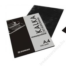 DONAU Indigó, gépi, A4, 100 lap, DONAU, fekete (DKAL30) indigó