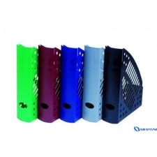 DONAU Iratpapucs műanyag 70 mm kék irattálca
