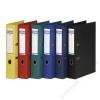 DONAU Iratrendező, 50 mm, A4, PP, élvédő sínnel, DONAU Premium, zöld (D3955Z)