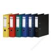 DONAU Iratrendező, 75 mm, A4, PP, élvédő sínnel, DONAU Premium, fekete (D3975FK)