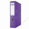 DONAU Iratrendező, 75 mm, A4, PP, élvédő sínnel, DONAU Premium, lila (D3975L)