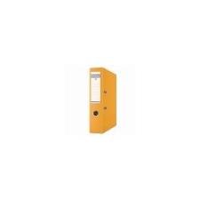 """DONAU Iratrendező, 75 mm, A4, PP, élvédő sínnel, DONAU """"Premium"""", narancs irattartó"""