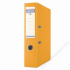 DONAU Iratrendező, 75 mm, A4, PP, élvédő sínnel, DONAU Premium, narancs (D3975N)
