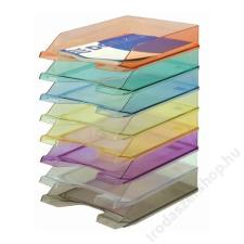 DONAU Irattálca, műanyag, DONAU, áttetsző füstszínű (D747F) irattálca