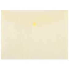 DONAU Irattartó tasak, A4, PP, patentos, , sárga boríték