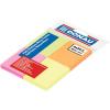 DONAU Öntapadó jegyzettömb, 38x51 mm, 4x50 lap, DONAU, vegyes szín