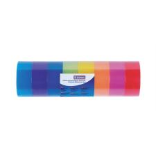 DONAU Ragasztószalag, 18 mm x 18 m, DONAU, vegyes színek ragasztószalag