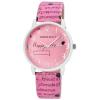 Donna Kelly Extravagáns, Donna Kelly márkájú női karóra, Happy Life felirattal pink