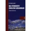 dr. Budai László BA STUDENTS' ENGLISH GRAMMAR