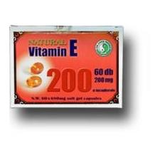 Dr. Chen E-vitamin 200 mg kapszula 60 db táplálékkiegészítő