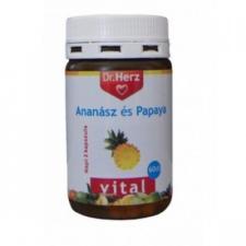 Dr Herz Ananász-Papaya kapszula vitamin és táplálékkiegészítő