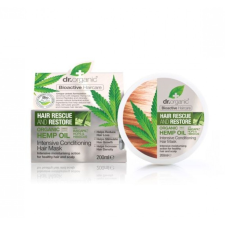 dr.Organic hajnövekedést serkentő intenzív hajpakolás Baicapil formulával és kendermagolajjal, 200 ml hajregeneráló