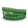DSE Il MEZZOMETRO -  CLASSIC - bőrből készült karkötő, zöld színben