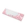 Ducky MIYA Pro Sakura Edition, MX-Red, Pink-LED - Fehér/pink