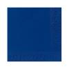 Duni szalvéta - 3 rétegű, 33x33, sötétkék színben