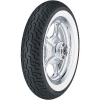 Dunlop D404 F WW ( 150/80-16 TL 71H fehérfalú, white wall gumi, M/C, Első kerék )