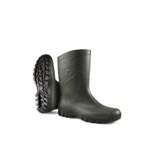 Dunlop dee k580011 rövidszárú zöld pvc csizma munkavédelmi cipő
