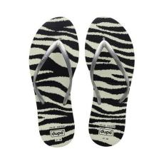 Dupé Női flip flops Dupé Exotica Zebra
