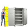 Duplex 775 KL Tűzálló biztonsági iratszekrény