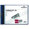 DURABLE Klippmappa -2246/07- 30 lapig A4 landscape fektetett 25db/csom DURABLE