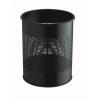 DURABLE Papírkosár, fém, 15 liter, , fekete