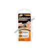 DURACELL hallókészülék elem DA312, ZA312 6db/csom